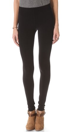 Stitched Fleece Lined Leggings by Plush in If I Stay