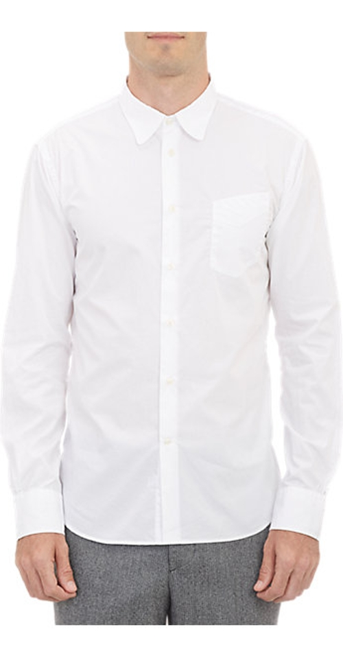 End-On-End Dress Shirt by Officine Generale in Fight Club