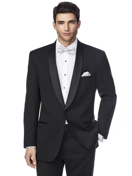 The James Shawl Collar Tuxedo Jacket by After Six in Ricki and the Flash