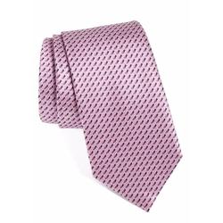 Geometric Silk Tie by Ermenegildo Zegna in Designated Survivor