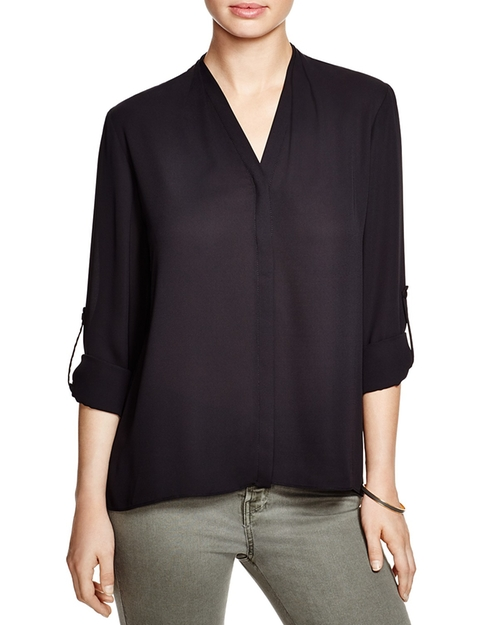 Taylor Roll Sleeve Blouse by T Tahari in Chelsea - Season 1 Episode 4