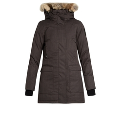 The Carla Fur-Trimmed Parka by Nobis in The Bachelor