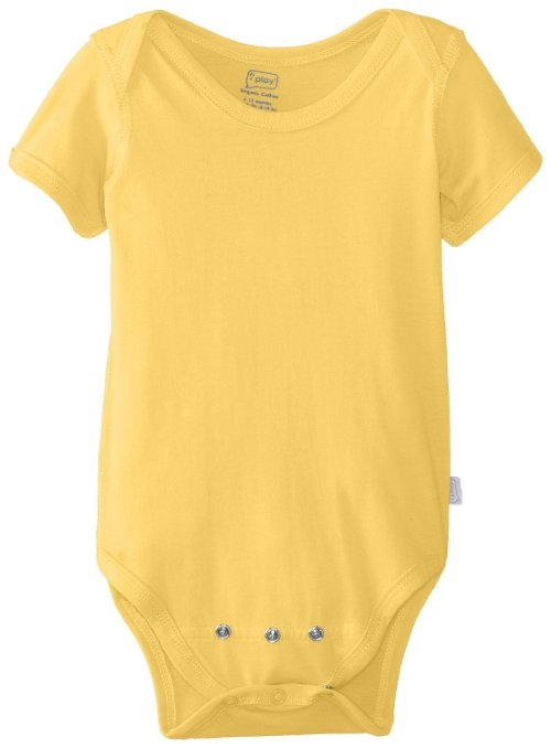 Unisex Baby Newborn Organic Adjustable Bodysuit by I Play in While We're Young