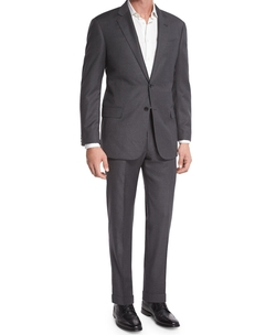 G-Line Windowpane Wool Two-Piece Suit by Armani Collezioni in Jane the Virgin