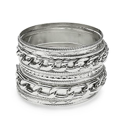 Multi Bangle Bracelet Set by Cara Couture in St. Vincent