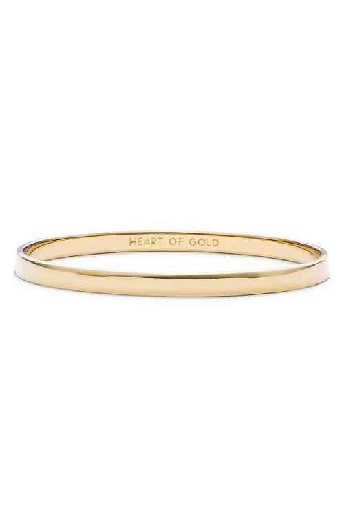 'Idiom - Heart of Gold' Bangle by Kate Spade New York in What If