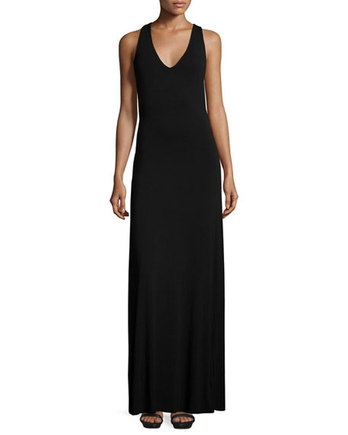 Alva Cross-Back Maxi Dress by Young Fabulous and Broke in Mr. & Mrs. Smith