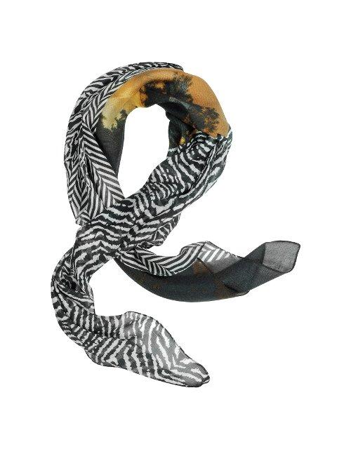 Zebra Printed Scarf by Roberto Cavalli in The Devil Wears Prada
