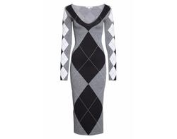 Argyle Sweater Dress by Stella McCartney in Will & Grace