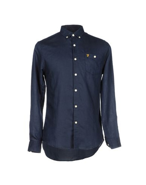 Button Down Shirt by Farah in The D Train