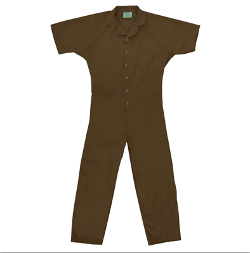 Inmate Coveralls by Robinson Textiles in Horrible Bosses 2