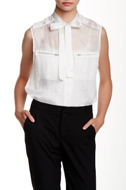 Kole Sleeveless Silk Blend Blouse by Iro in The Visit