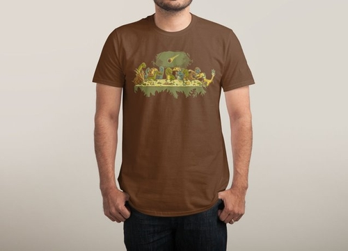 The Last Supper Tee Shirt by Threadless in The Flash - Season 2 Episode 22