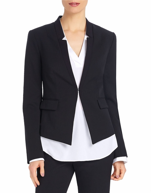 Fitted Collarless Blazer by Ellen Tracy in Scandal - Season 5 Episode 15