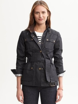 Belted Pocket Coat by Banana Republic in The Twilight Saga: Breaking Dawn - Part 2