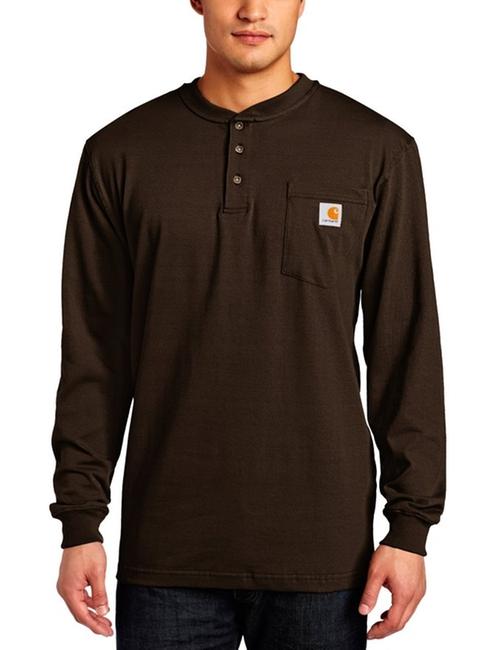 Men's Pocket Henley Long-Sleeve Shirt by Carhartt in Black-ish - Season 2 Episode 5