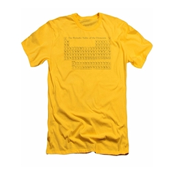 Periodic Table Of The Elements T-Shirt by Pixels in Stranger Things