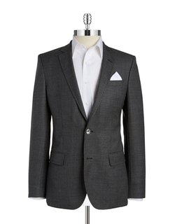Two-Button Wool Blazer by Hugo Boss in The Good Wife