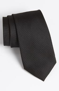 Woven Silk Tie by Calibrate in Contraband