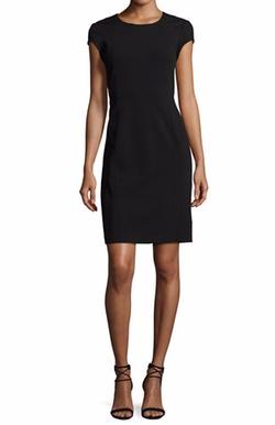 Dixon Cap-Sleeve Sheath Dress by Lafayette 148 New York in Billions