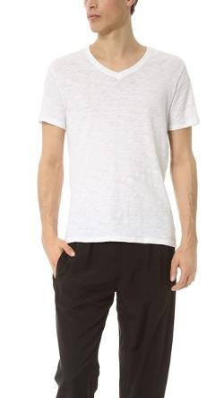 V Neck Slub Jersey T-Shirt by ATM Anthony Thomas Melillo in The Expendables 3