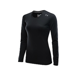 Women's Hotshot Heatgear Long-Sleeve T-Shirt by Under Armour in Sicario