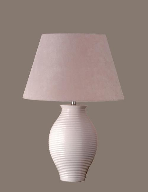 Lily Table Lamp with Milford Barrel Shade by Laura Ashley Home in Transcendence