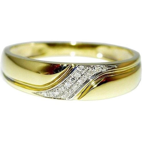 Mens Wedding Band Ring by Midwest Jeweller in Tomorrowland