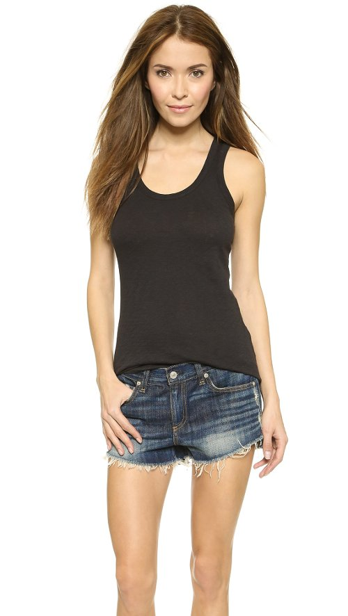 The Classic Beater Tank Top by Rag & Bone in Get Hard