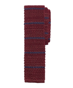 Stripe Knit Tie by Brooks Brothers in Scream Queens