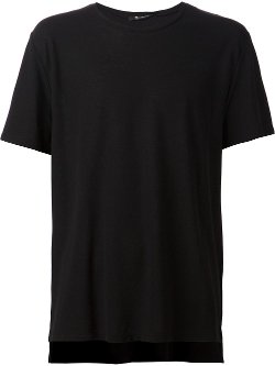 Crew Neck T-Shirt by T By Alexander Wang in The Town