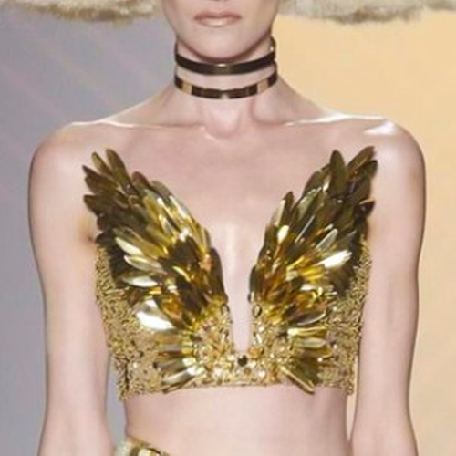 SS16 Strapless Sequin Top by The Blonds in Empire - Season 2 Episode 10
