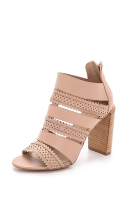 Star Perforated Sandals by See By Chloe in Elementary