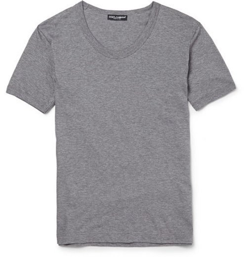 Cotton-Jersey T-Shirt by Dolce & Gabbana in Get Hard