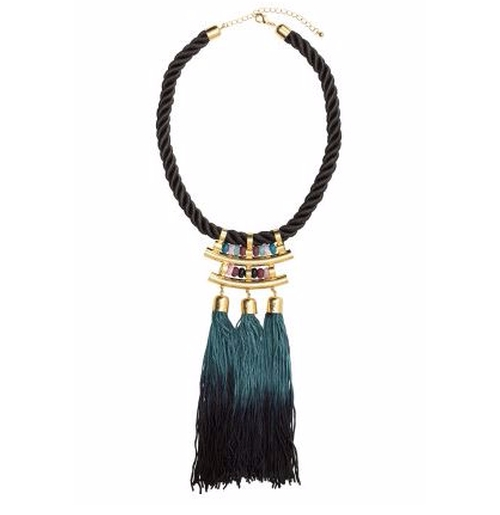 Tassel Necklace by H&M in Scream Queens - Season 2 Episode 1