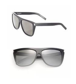 SL 1 Flat Top Sunglasses by Yves Saint Laurent in Keeping Up With The Kardashians