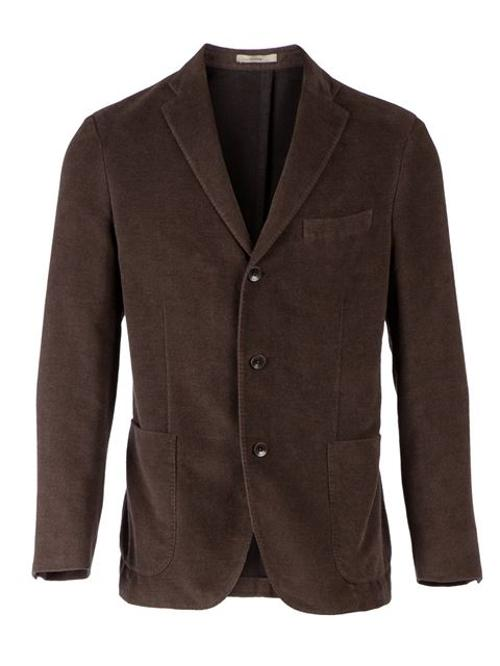 Three Men's Jacket by Boglioli in Fifty Shades of Grey