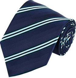 Mixed Stripe Neck Tie by Brioni in Suits
