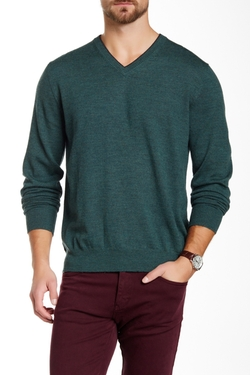 V-Neck Wool Sweater by C/89 Men in Silicon Valley