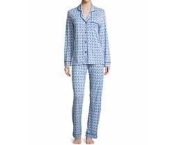 Printed Long-Sleeve Pajama Set by Cosabella Bella in Animal Kingdom