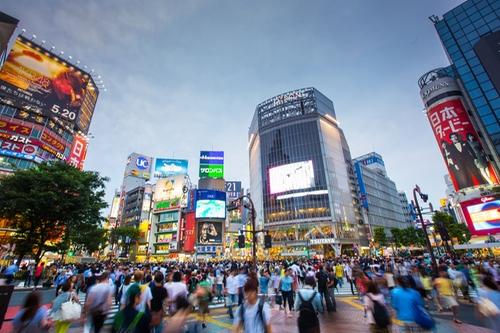 Shibuya Tokyo, Japan in Furious 7