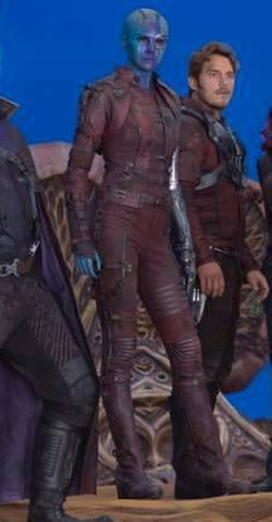 Custom Made Nebula Costume by Judianna Makovsky (Costume Designer) in Guardians of the Galaxy Vol. 2