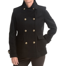 Double-Breasted Wool Coat by Kristen Blake in Modern Family