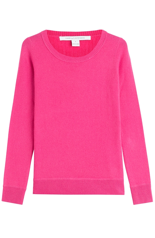Cashmere Pullover Sweater by Diane Von Furstenberg in Confessions of a Shopaholic