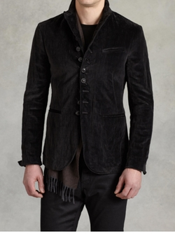 Velvet Multi Button Jacket by John Varvatos in Shadowhunters