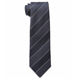University Stripe Tie by John Varvatos Star U.S.A. in Bridget Jones's Baby
