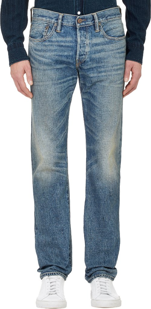 Apache Slim-Leg Jeans by Simon Miller in Get Hard