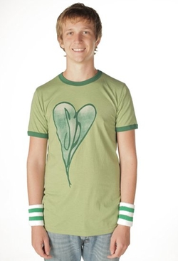 The Smashing Pumpkins Distressed Heart Adult T-Shirt by Unknown in Scott Pilgrim Vs. The World