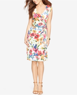 Ruffled Floral-Print Dress by American Living  in Gilmore Girls: A Year in the Life