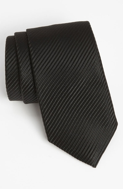 Woven Silk Tie by David Donahue in Youth